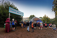 Pictured: The Green Man Rising stage. Sunday 22 August 2021<br /> Re: Green Man Festival near Crickhowell, Wales, UK.