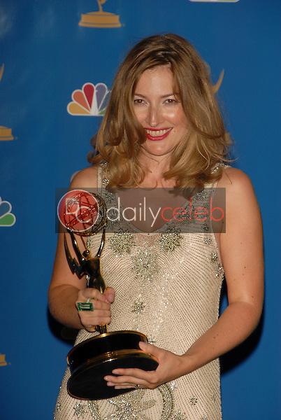 Kelly Macdonald<br />in the Press Room at the 58th Annual Primetime Emmy Awards. The Shrine Auditorium, Los Angeles, CA. 08-27-06<br />Scott Kirkland/DailyCeleb.com 818-249-4998