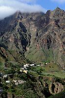 Manta Velha im Ribeira da Garca, Santo Antao, Kapverden, Afrika