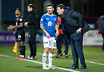 Dundee v St Johnstone…29.12.18…   Dens Park    SPFL<br />Sainst manager Tommy Wright gives instructions to Matty Kennedy<br />Picture by Graeme Hart. <br />Copyright Perthshire Picture Agency<br />Tel: 01738 623350  Mobile: 07990 594431