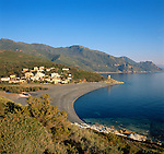 France, Corsica, Albo: small village at West coast of Cap Corse Area | Frankreich, Korsika, Albo: kleiner Ort an der Westkueste des Cap Corse