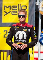Sep 15, 2019; Mohnton, PA, USA; NHRA top fuel driver Leah Pritchett during the Reading Nationals at Maple Grove Raceway. Mandatory Credit: Mark J. Rebilas-USA TODAY Sports