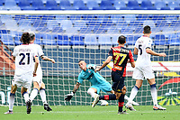 gol Davide Zappacosta <br /> Serie A football match between Genoa CFC and FC Crotone at Marassi Stadium in Genova (Italy), September 20th, 2020. Photo Image Sport / Insidefoto