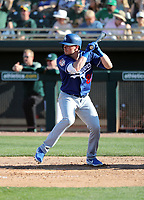 Gavin Lux - Los Angeles Dodgers 2019 spring training (Bill Mitchell)