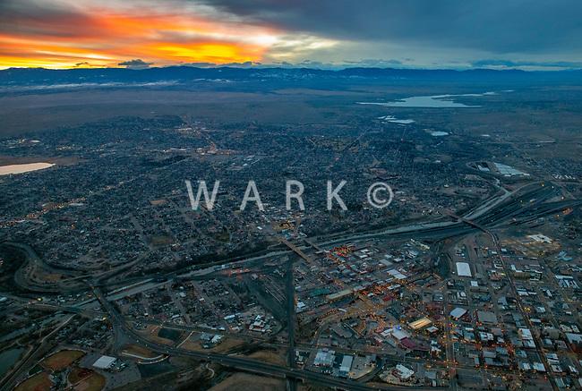 twilight view of Pueblo Colorado