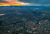twilight view of Pueblo Colorado