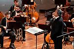 All'Auditorium Oscar Niemeyer<br /> Orchestra Giovanile Luigi Cherubini<br /> Direttore Riccardo Muti<br /> Rosa Feola, soprano<br /> Musiche di Cimarosa, Mozart, Bellini, Verdi, Schubert, Mercadante