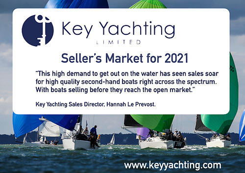 A Seller's Market for Brokerage Boats: Now is the Perfect Time to Sell your Boat with Key Yachting