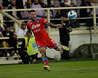 3rd October 2021; Franchi Stadium, Florence, Italy; Serie A football, Fiorentina versus Napoli : Matteo Politano of Napoli