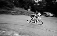 Jonathan Castroviejo (ESP/Movistar) descending the Col de Chaussy (C1/1533m/14.4km@6.3%)<br /> <br /> stage 19: St-Jean-de-Maurienne - La Toussuire / Les Sybelles   (138km)<br /> Tour de France 2015