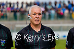 Referee Mike Sexton before the County Senior hurling Final between Kilmoyley and Saint Brendan's at Austin Stack park on Sunday.