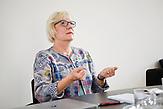 Dr. Ellen Bos von der Andrássy University. 14.06.2018