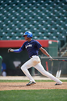 Sergio Campana (10) during the Dominican Prospect League Elite Underclass International Series, powered by Baseball Factory, on August 2, 2017 at Silver Cross Field in Joliet, Illinois.  (Mike Janes/Four Seam Images)