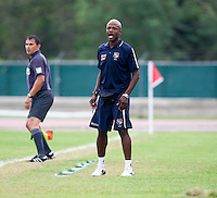 Jorge Dely Valdes. Canada played Panama during the CONCACAF Men's Under 17 Championship at Catherine Hall Stadium in Montego Bay, Jamaica.