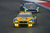 #96 Turner Motorsport BMW M6 GT3, GTD: Robby Foley III, Bill Auberlen, #57 Heinricher Racing w/MSR Curb-Agajanian Acura NSX GT3, GTD: Alvaro Parente, Misha Goikhberg