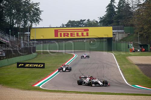 1st November 2020, Imola, Italy; FIA Formula 1 Grand Prix Emilia Romagna, Race Day; 99 Antonio Giovinazzi ITA, Alfa Romeo Racing ORLEN