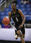 Cheyenne's Kavon Williams runs the ball during the NIAA 3A state basketball championship game against Desert Pines in Reno, Nev., on Saturday, Feb. 24, 2018. Desert Pines won 48-44 in overtime. Cathleen Allison/Las Vegas Review-Journal