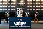 The trophy at Longines Hong Kong Masters official press conference at the Happy Valley Racetrack on February 02, 2016 in Hong Kong.  Photo by Victor Fraile / Power Sport Images