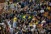 Sao Paulo, 28.08.2019 - BRASIL X ARGENTINA - Torcida durante partida entre Brasil e Argentina, no estádio do Pacaembu, em São Paulo, pelo Torneio Uber Internacional de Futebol Feminino de Seleçoes.  (Foto: Carla Carniel/Código19)