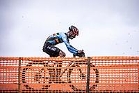 Eli Iserbyt (BEL) <br /> <br /> Men's Elite race<br /> UCI 2020 Cyclocross World Championships<br /> Dübendorf / Switzerland<br /> <br /> ©kramon
