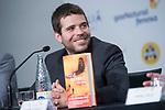 Writter Pablo Tebar, winner of Minotauro Award, attends to press conference at Sitges Film Festival in Barcelona, Spain October 10, 2017. (ALTERPHOTOS/Borja B.Hojas)