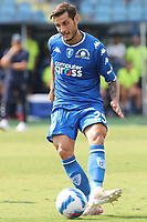 Filippo Bandinelli of Empoli FC in action during the Serie A football match between Empoli FC  and Venezia FC at Carlo Castellani stadium in Empoli (Italy), September 11th, 2021. Photo Paolo Nucci / Insidefoto