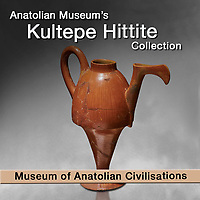 Pictures of Hittite Pottery from Kultepe Kanesh - Museum of Anatolian Civilisations -
