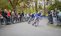 Zdenek Stybar (CZE/Quick Step Floors) & Laurens De Plus (BEL/Quick Step Floors) at the Tom Boonen farewell race/criterium 'Tom Says Thanks!' in Mol/Belgium