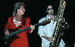Chris Campbell & Alto Reed of Bob Seger & Silver Bullet Band