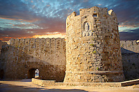 Gate of St Paul, Rhodes, Greece. UNESCO World Heritage Site