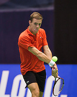 December 17, 2014, Rotterdam, Topsport Centrum, Lotto NK Tennis,  Scott Griekspoor (NED)<br /> Photo: Tennisimages/Henk Koster