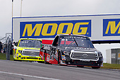 NASCAR Camping World Truck Series<br /> Chevrolet Silverado 250<br /> Canadian Tire Motorsport Park<br /> Bowmanville, ON CAN<br /> Sunday 3 September 2017<br /> Ben Rhodes, Safelite Auto Glass Toyota Tundra and Matt Crafton, Ideal Door / Menards Toyota Tundra<br /> World Copyright: Russell LaBounty<br /> LAT Images