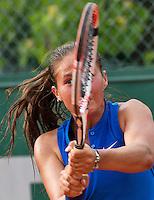 Paris, France, 28 June, 2016, Tennis, Roland Garros, Daria Kasatkina (RUS)<br /> Photo: Henk Koster/tennisimages.com