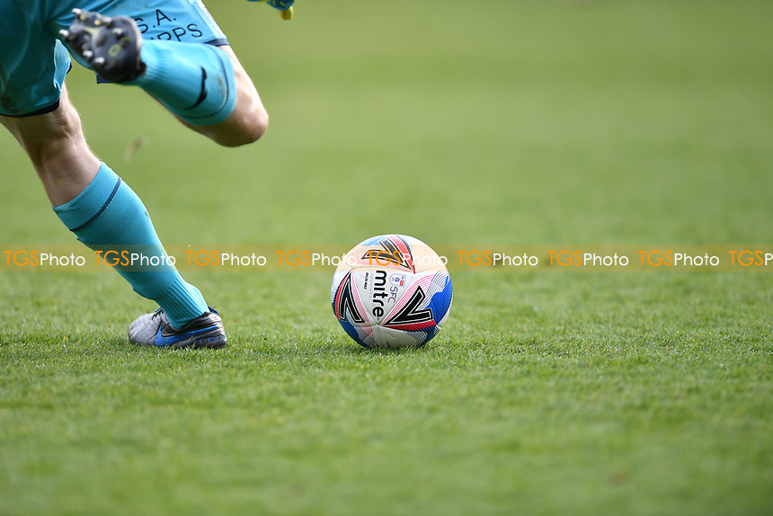 Match day ball during Stevenage vs Barrow, Sky Bet EFL League 2 Football at the Lamex Stadium on 27th March 2021