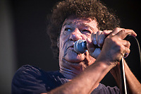 Robert Charlebois perform at <br /> the  Festival en Chanson of Petite-Vallee in Gaspesia on July 5, 2014.<br /> <br /> Photo : Agence Quebec Presse  - Frederic Seguin