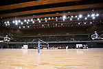 A view of the interior of Ariake Arena during the Grand Opening Ceremony on February 2, 2020, Tokyo, Japan. The new sporting and cultural centre will host the volleyball and wheelchair basketball competitions during the Tokyo 2020 Olympic Games. (Photo by Rodrigo Reyes Marin/AFLO)