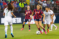 EAST HARTFORD, CT - JULY 1: Lindsey Horan #9 of the United States during a game between Mexico and USWNT at Rentschler Field on July 1, 2021 in East Hartford, Connecticut.