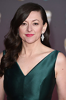 Jo Hartley<br /> arriving for the BAFTA Film Awards 2020 at the Royal Albert Hall, London.<br /> <br /> ©Ash Knotek  D3554 02/02/2020