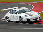 Steve Miller (7) in action during the V8 Supercars and the Porsche GT3 Cup cars practice sessions at the Circuit of the Americas race track in Austin,Texas. ..