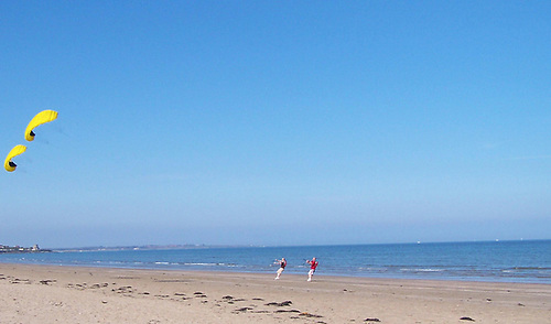 Portmarnock Beach in Fingal