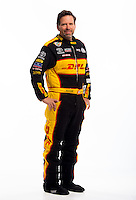 Jan 16, 2013; Palm Beach Gardens, FL, USA; NHRA funny car driver Del Worsham poses for a portrait. Mandatory Credit: Mark J. Rebilas-
