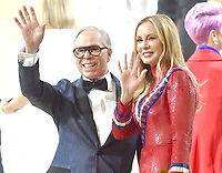 """NEW YORK, NEW YORK - SEPTEMBER 13: Tommy Hilfiger and Dee Ocleppo at the 2021 Met Gala benefit """"In America: A Lexicon of Fashion"""" at Metropolitan Museum of Art on September 13, 2021 in New York City. Credit: John Palmer/MediaPunch"""