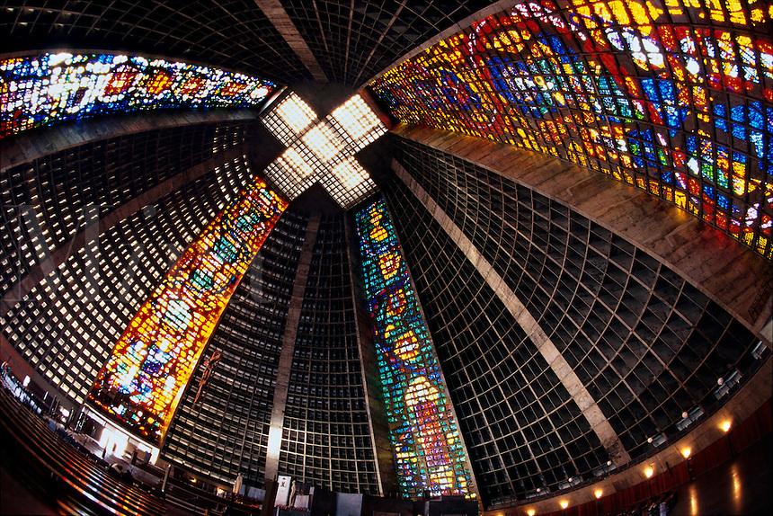 Cathedral de San Sebastian Rio de Janeiro Brazil.