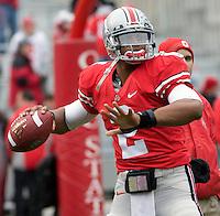 November 22, 2008. Ohio State quarterback Terrelle Pryor.  The Ohio State Buckeyes defeated the Michigan Wolverines 42-7 on November 22, 2008 at Ohio Stadium, Columbus, Ohio.