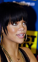 """Toronto (ON), June 14, 2007  - Rihanna, an artist with musical influences from R&B, pop and reggae, signing copies of her just released CD Good Girl Gone Bad, which includes the smash single """"Umbrella"""" featuring Jay-Z, at Toronto's Best Buy store at Eaton Centre.Toronto (ON), June 14, 2007  - Rihanna, an artist with musical influences from R&B, pop and reggae, signing copies of her just released CD Good Girl Gone Bad, which includes the smash single """"Umbrella"""" featuring Jay-Z, at Toronto's Best Buy store at Eaton Centre."""