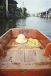 BOAT RIDE ON CANAL IN THAILAND on way to damnernsaduak floating market