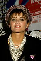 Diane Tell<br /> , sept 1986<br /> <br />  - PHOTO D'ARCHIVE :  Agence Quebec Presse