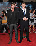 Chris Hemsworth and Liam Hemsworth at The Marvel Studios Premiere of THOR held at The El Capitan Theatre in Hollywod, California on May 02,2011                                                                               © 2010 Hollywood Press Agency