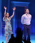 Lauren Ridloff and Joshua Jacksonduring the Broadway opening night performance Curtain Call for 'Children of a Lesser God' at Studio 54 Theatre on April 11, 2018 in New York City.