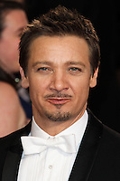 HOLLYWOOD, LOS ANGELES, CA, USA - MARCH 02: Jeremy Renner at the 86th Annual Academy Awards held at Dolby Theatre on March 2, 2014 in Hollywood, Los Angeles, California, United States. (Photo by Xavier Collin/Celebrity Monitor)